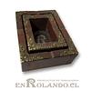 Cenicero Doble de Madera ($3.990 x Mayor)