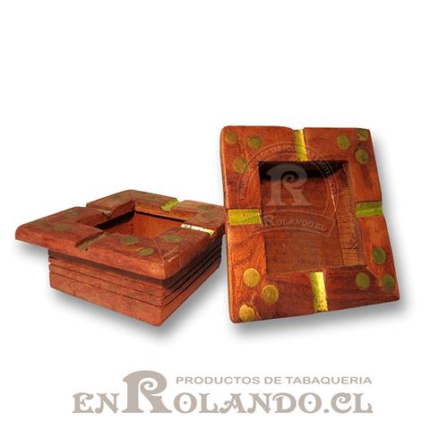 Cenicero Madera Pintado ($990 x Mayor)