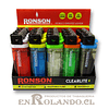 Encendedor Ronson Clearlite - Display