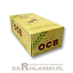 Papelillos OCB Organico  #1 - 50 libritos - Display