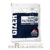 Filtros Gizeh Carbón Activado Slim - Bolsa ($790 x Mayor)
