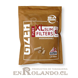 Filtros Gizeh Pure, Orgánicos - Bolsa ($790 x Mayor)