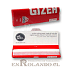 Papelillos Gizeh Rojo (Fine) 1 1/4 - Display