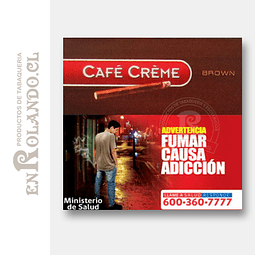 Cigarritos Café Crème Brown ($5.000 x Mayor)