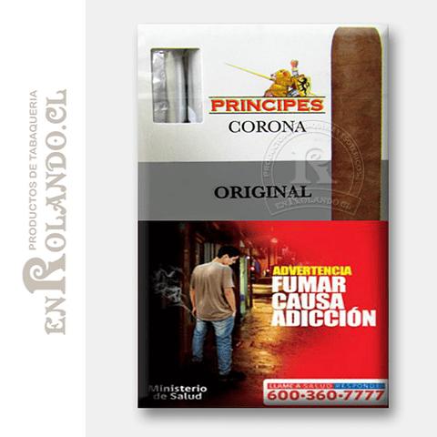 Cigarros Principes Corona Original ($8.990 x Mayor)