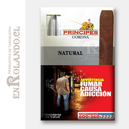 Cigarros Principes Corona Natural ($6.500 x Mayor)