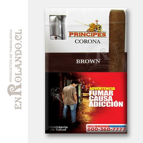 Cigarros Principes Corona Brown ($8.990 x Mayor)
