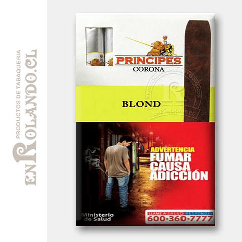 Cigarros Principes Corona Blond ($8.990 x Mayor)