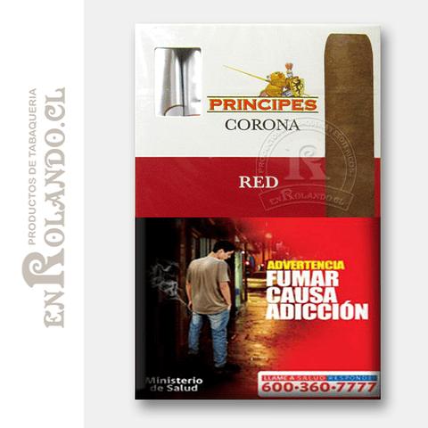 Cigarros Principes Corona Red ($8.990 x Mayor)