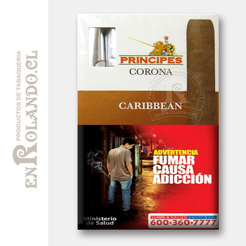 Cigarros Principes Corona Caribbean ($8.990 x Mayor)