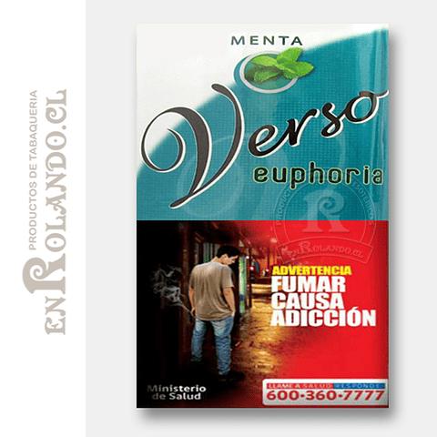 Tabaco Verso Euphoria Menta ($5.490 x Mayor)