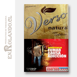 Tabaco Verso Euphoria Natural ($5.490 x Mayor)