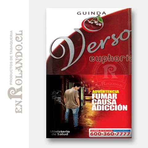 Tabaco Verso Euphoria Guinda ($5.490 x Mayor)