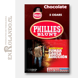 Cigarros Phillies Blunt Chocolate ($3.500 x Mayor)