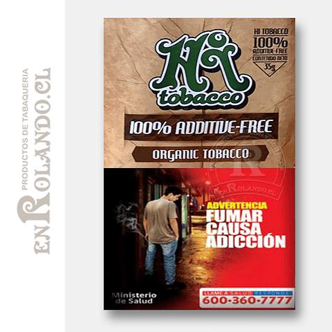Tabaco Hi Orgánico ($6.690 x Mayor)