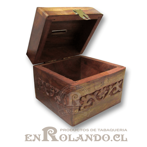 Caja Madera Alcancía ($3.990 x Mayor)