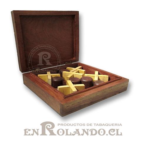 Caja Madera Juego Gato ($3.990 x Mayor)