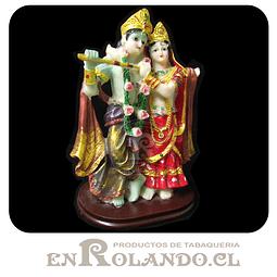 Figura de dioses Krishna y Radha ($7.990 x Mayor)