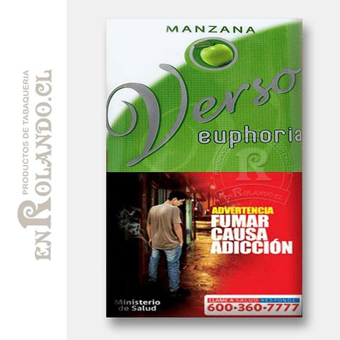 Tabaco Verso Euphoria Manzana ($5.490 x Mayor)