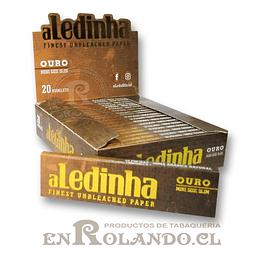 Papelillo Aledinha Oro Mini Size Slim - Display