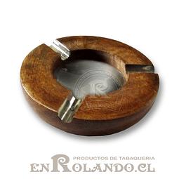 Cenicero Madera y Metal ($1.490 x Mayor)