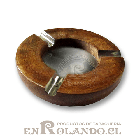 Cenicero Madera y Metal ($1.490 x Mayor)