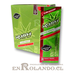 Kush Wraps Kiwi-Frutilla ($560 x Mayor)