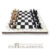 Tablero de Ajedrez Madera 21 cm ($1.690 x Mayor)