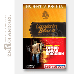 Tabaco Captain Black Bright Virginia 50 Grm. ($8.290 x Mayor)