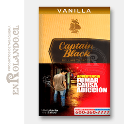 Tabaco Captain Black Vainilla 50 Grm. ($8.290 x Mayor)