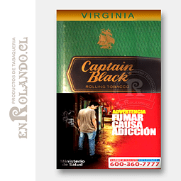Tabaco Captain Black Virginia 50 Grm. ($8.290 x Mayor)