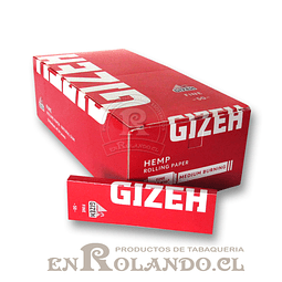 Papelillos Gizeh Rojo (Fine) # 1 - Display