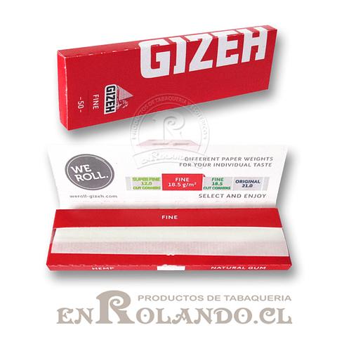 Papelillos Gizeh Rojo (Fine) # 1 - Display