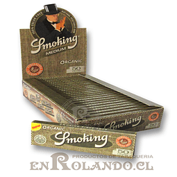 Papelillos Smoking Orgánico 1 1/4 - Display
