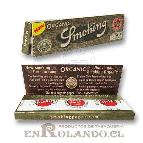 Papelillos Smoking Orgánico 1 1/4 - Display