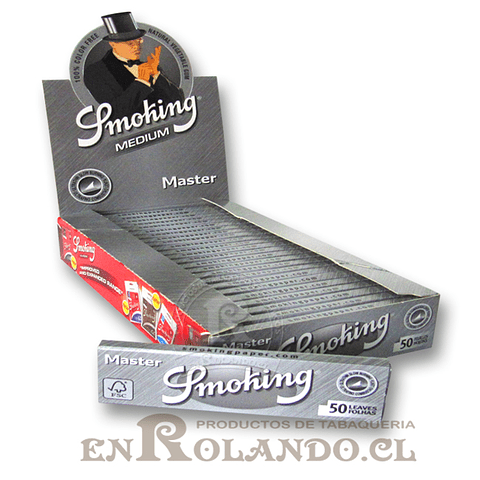 Papelillos Smoking Master 1 1/4 - Display