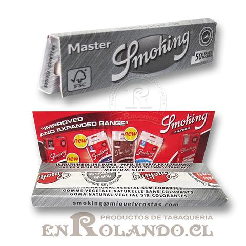 Papelillos Smoking Master 1 1/4 - Display