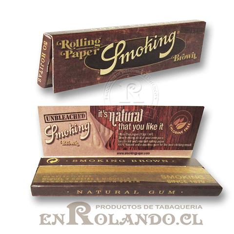 Papelillos Smoking Brown 1 1/4 - Display