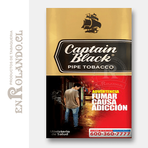 Tabaco para Pipa Captain Black Gold ($10.890 x Mayor)