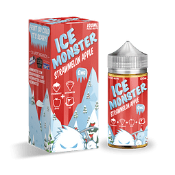 JAM MONSTER ICE FRAMBUESA MANZANA 100ML