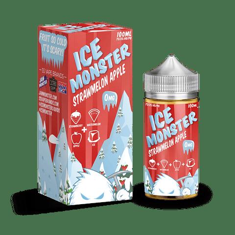 JAM MONSTER ICE FRAMBUESA MANZANA 100ML