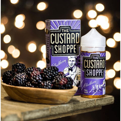 The Custard Shoppe – Blackberry 100ML