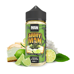 ONE HIT WONDER MAN SERIES ARMY MAN 100ML SHORTFILL