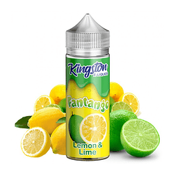 KINGSTON E-LIQUIDS LEMON LIME 100ML