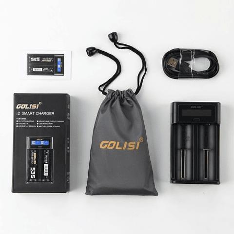 Cargador USB inteligente Golisi I2 2A con pantalla