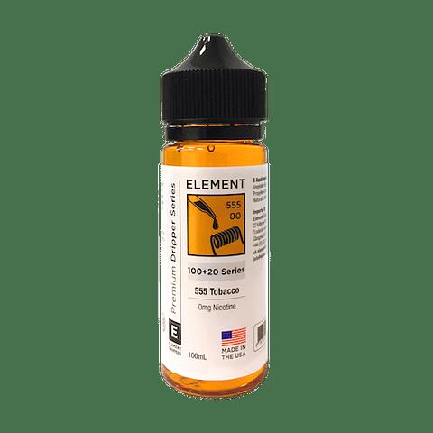Element Eliquid 555 Tobacco  100ml