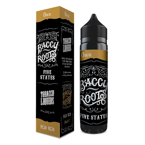 BACCY ROOTS Five States - 50ml TABACCO