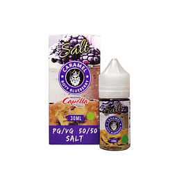 Flamingo E Lic - Caramel Roty Blueberry Salt Nic 30ML