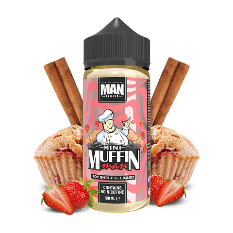 ONE HIT WONDER MAN SERIES MINI MUFFIN MAN  100ML
