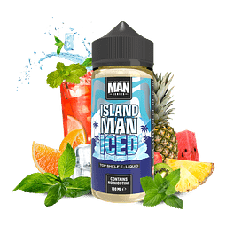 ONE HIT WONDER MAN SERIES ISLAND MAN ICED  100ML